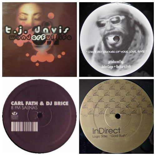 Whitney Houston - How Will I Know; TJ Davis - Wonderful Life; InDirect - Gold Rush; Barry White - Can't Get Enough; Memi vs. Baldas - I Feel Love; Workidz - Passion Of Voyage; Carl Fath & Dj Brice (aka Aquapura) - 8Pm Salinas [2001-2005]