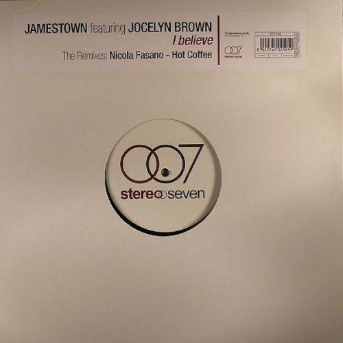 "Jamestown ft. Jocelyn Brown – I Believe (Italy Vinyl, 12"") [2004]"
