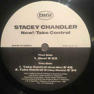 Stacey Chandler ‎– Now!; Take Control [1998]
