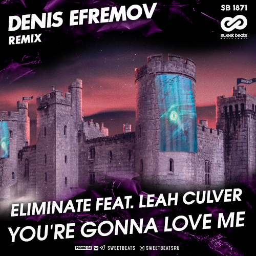 Eliminate feat. Leah Culver - You're Gonna Love Me (Denis Efremov Remix) [2020]