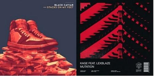 Black Caviar - Stacks On My Feet (Original Mix); Kage feat. Lexblaze - Mutation (Extended Mix) [2020]