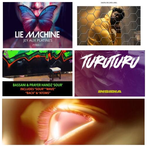 Bassani Prayer, Handz - Atoms (Original Mix); Gorgon City, Evan Giia - Burning (Extended Mix); Insidia - Turu Turu (Extended Mix); Jey Aux Platines - Lie Machine (Extended Mix); Kid Unique - Tell You Stop (Club Mix) [2020]