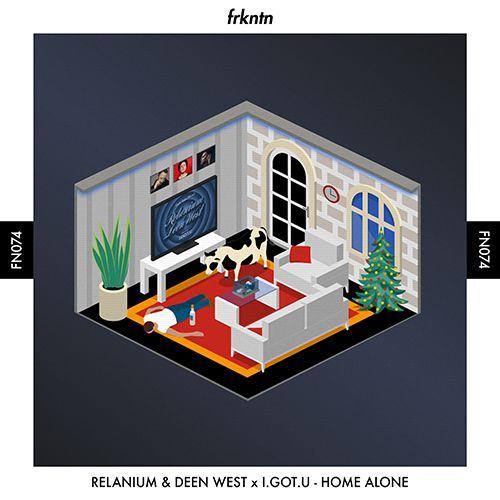 Relanium & Deen West Feat. I.Got.U - Home Alone (Extended Mix) [2020]