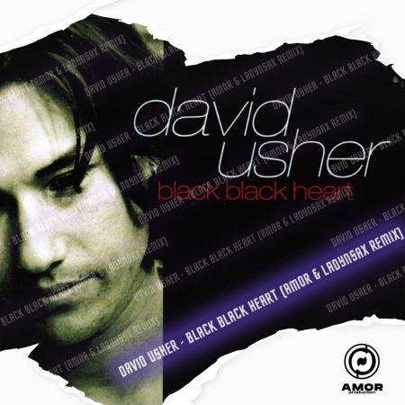 David Usher - Black Black Heart (Amor & Ladynsax Remix) [2021]